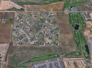 columbine ranches aerial view