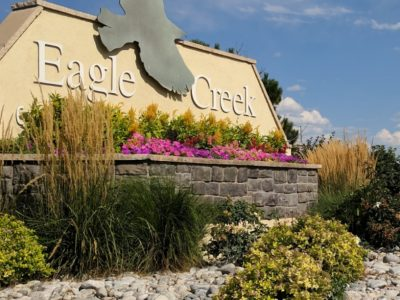 Eagle Creek Sign