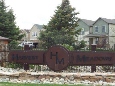Harvest Meadows Sign